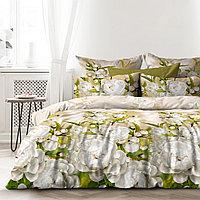 Любимый дом Комплект постельного белья Яблоневый Цвет, 2 спальный евро