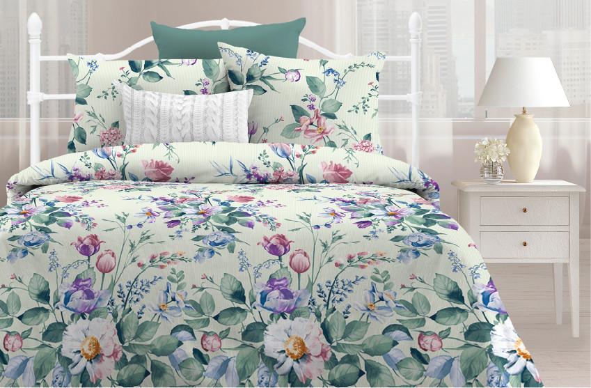 Любимый дом Комплект постельного белья  Цветочная симфония, Дуэт( семейный набор)