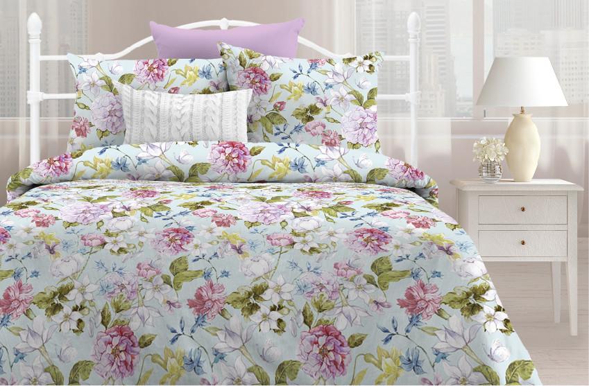 Любимый дом Комплект постельного белья  Нежное пробуждение, Дуэт( семейный набор)
