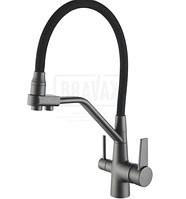 Смеситель для кухни с гибким изливом под фильтр Rose R558Y