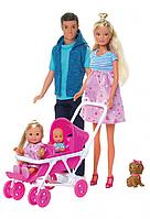Кукла Штеффи с сюрпризом - Большая семья