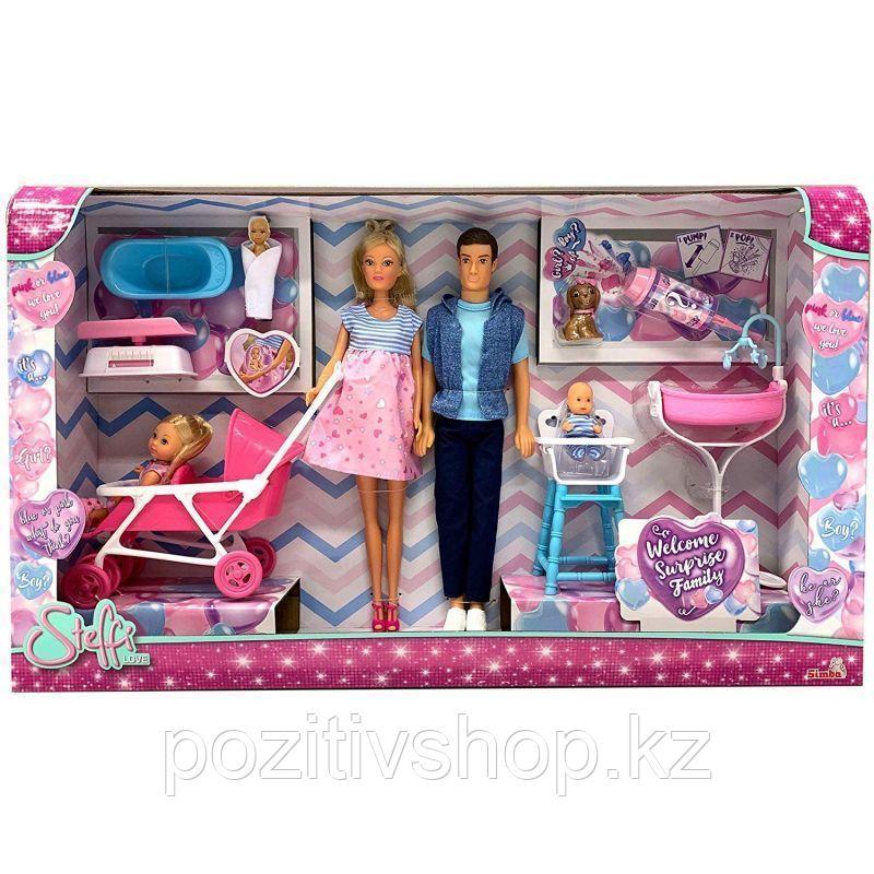 Кукла Штеффи с сюрпризом - Большая семья - фото 5