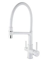 Смеситель для кухни с гибким изливом под фильтр Rose R658C