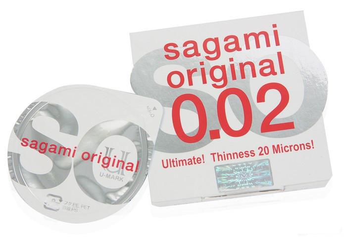 Презервативы Sagami Original 002, полиуретановые, 1шт.