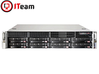 Сервер Supermicro 2U/Xeon E-2224 3,4GHz/16Gb/6x4Tb SATA/2x740w, фото 1