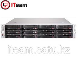 Сервер Supermicro 2U/1xGold 6242R 3,1GHz/128Gb/2x480Gb SSD/10x900Gb