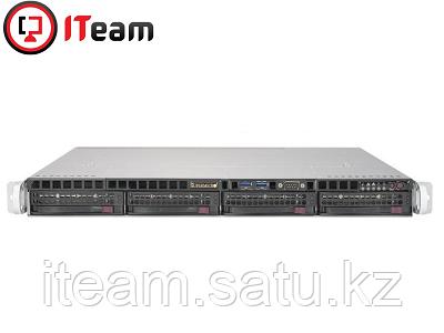 Сервер Supermicro 1U/Xeon E-2236 3,4GHz/16Gb/No HDD/500w