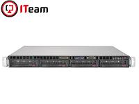 Сервер Supermicro 1U/Xeon E-2236 3,4GHz/16Gb/No HDD/500w, фото 1
