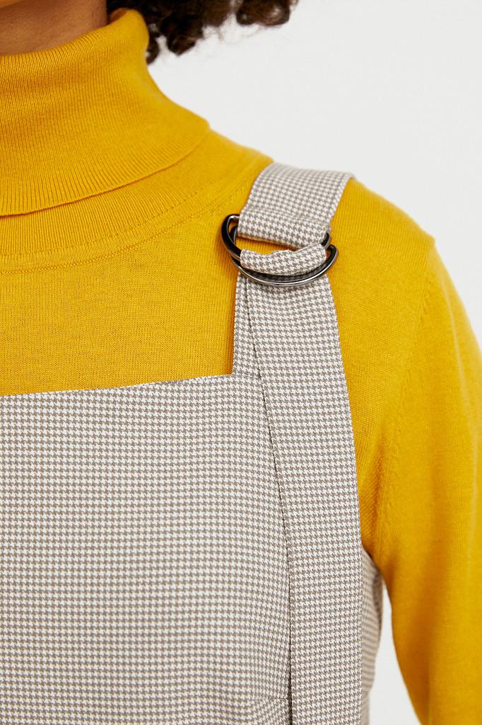 Платье женское Finn Flare, цвет светло-коричневый, размер XL - фото 5