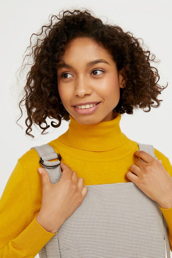 Платье женское Finn Flare, цвет светло-коричневый, размер XL - фото 6