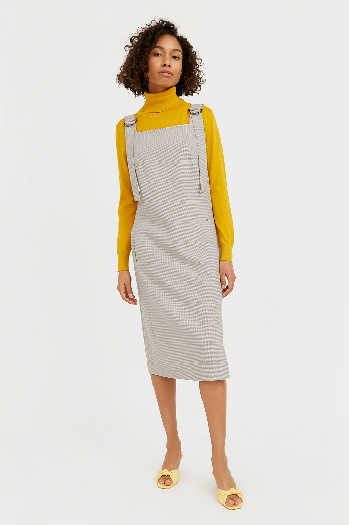 Платье женское Finn Flare, цвет светло-коричневый, размер M - фото 2