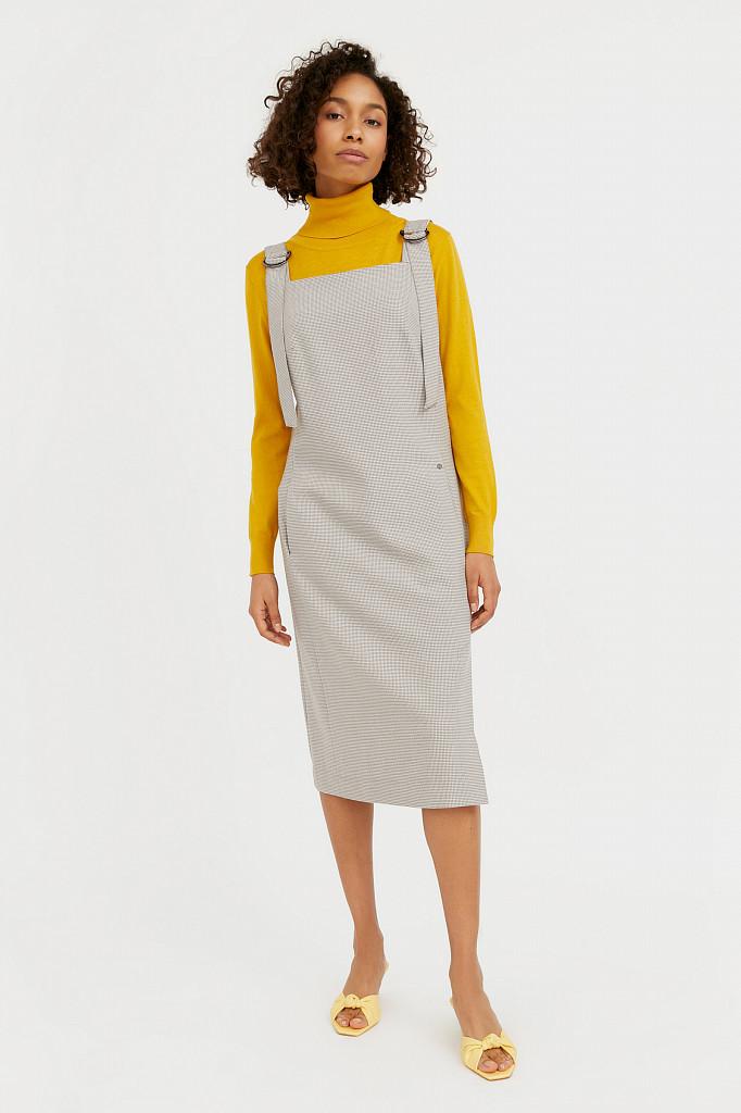 Платье женское Finn Flare, цвет светло-коричневый, размер 2XL - фото 2
