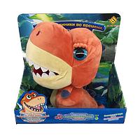 Ритмичная звукозаписывающая игрушка динозавр Jia Du Toys