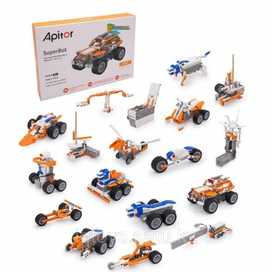 Apitor электронный программируемый робот-конструктор (19 в 1) для мальчиков и девочек