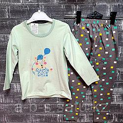 Детская пижама ментоловая