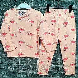 Детская пижама с фламинго