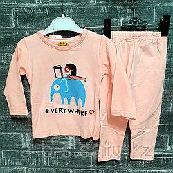 Детская пижама со слоном
