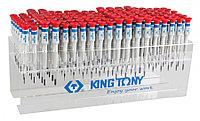 KING TONY Стенд с прецизионными отвертками, серии 1431, 1432, 1433, 114 предметов KING TONY 31419MR