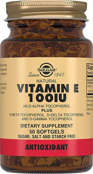 Solgar Витамин Е 100МЕ №50капс