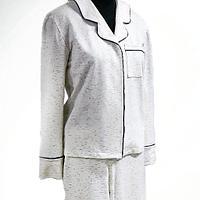 Пижама, комплект рубашка и брюки
