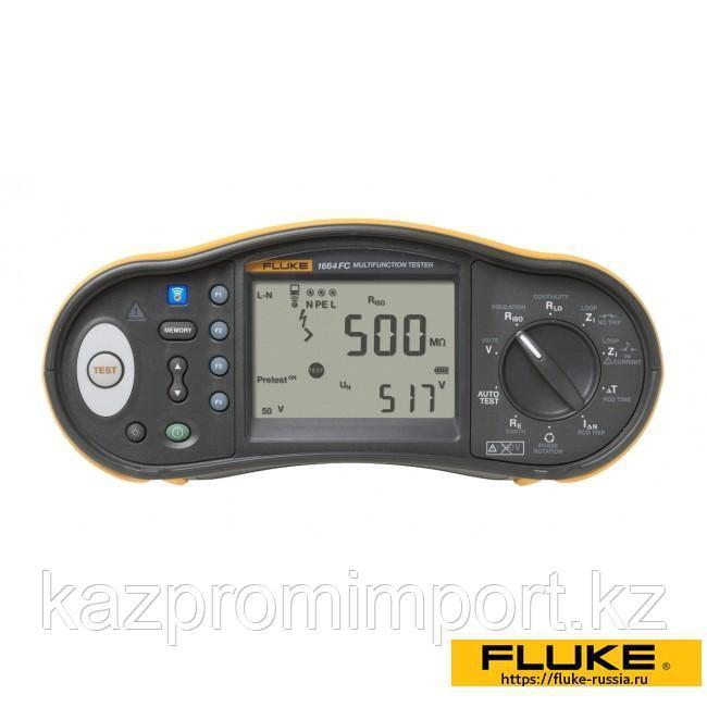 Fluke 1664 FC — многофункциональный тестер электроустановок
