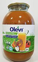 """Сок тыквенно-яблочный натуральный """"Olevi ®"""" 2 л"""