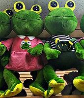 Плюшевая игрушка лягушка 60 см, фото 1