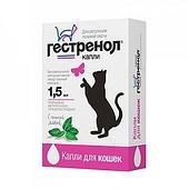 Гормональный контрацептив Гестренол для кошек, 1.5мл