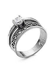 Кольцо Красная Пресня , фианит, ажурное 2387814 размеры - 21
