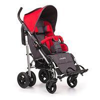 Детская инвалидная кресло-коляска ДЦП UMBRELLA, размер 2, комнатная Красный