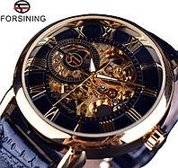 """Часы мужские механические скелетон с прозрачным механизмом. Часы """"Hereh Horloge"""""""