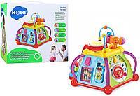 Развивающая игрушка Мультибокс Куб Hola Activity Pyramid.Joy Box.