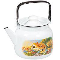 """Чайник эмалированный """"Хуторок"""" 3,5 литра"""