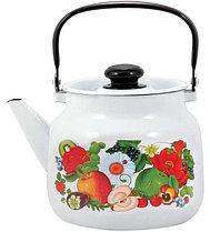 """Чайник эмалированный """"Фруктовый микс"""" 3,5 литра"""