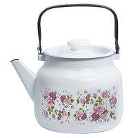 """Чайник эмалированный """"Китайская роза"""" 3,5 литра"""