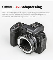 Canon EOS RP Body +Mount Adapter Viltrox EF-EOS R, фото 1
