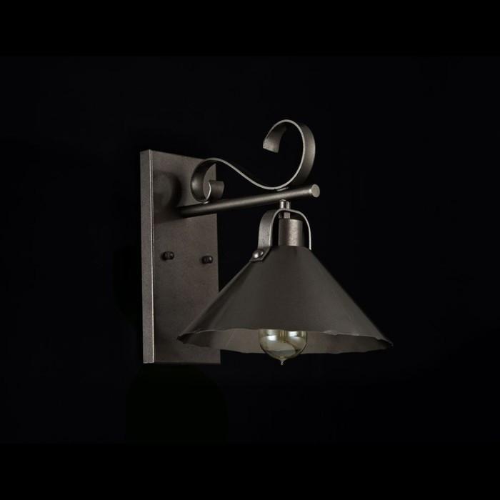 Бра Iron  1x60Вт E27 коричневый 31,5x25x27см