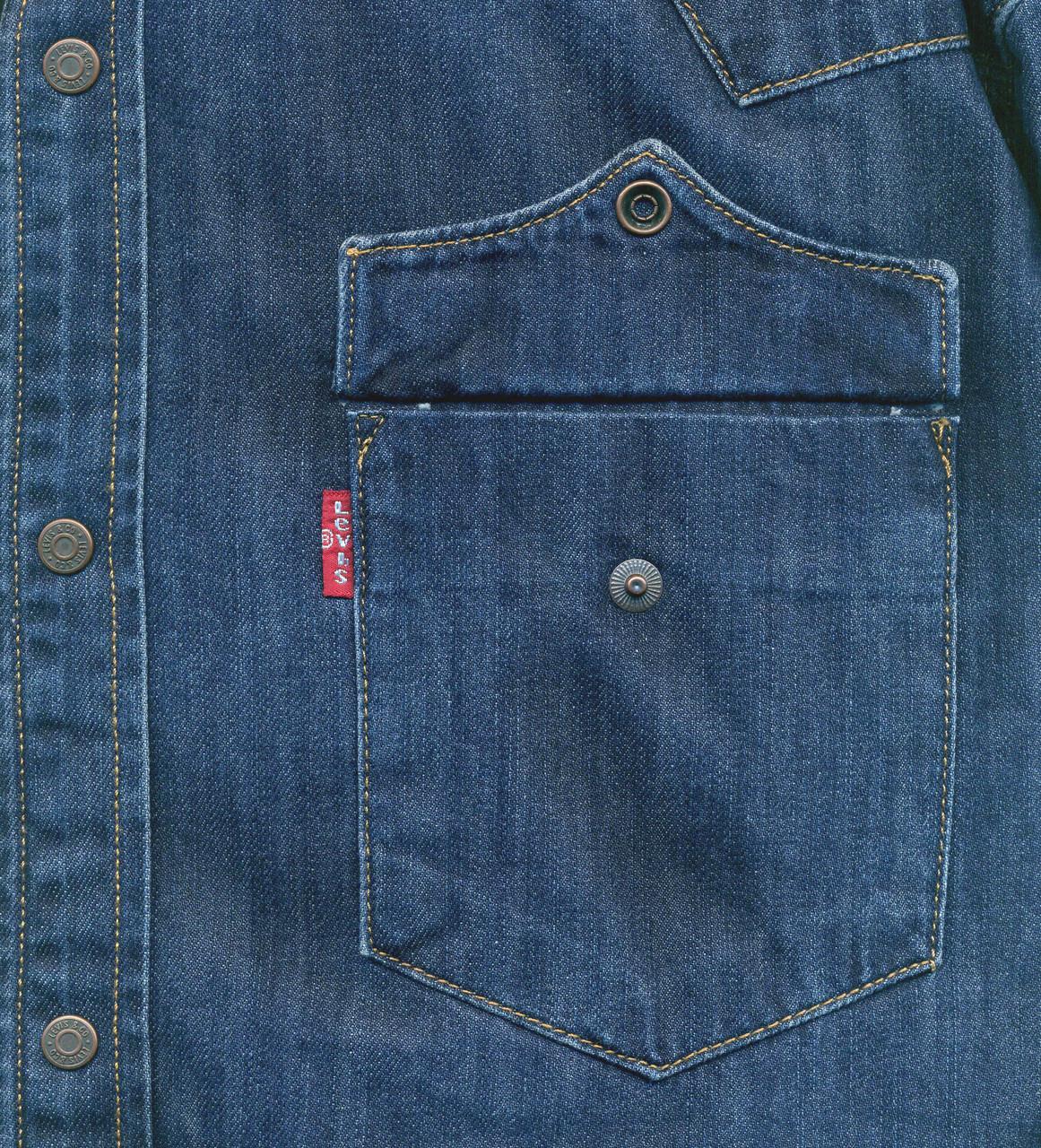 "Джинсовая рубашка ""Levi's"" (4XL / 56) - фото 6"