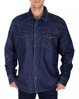 """Джинсовая рубашка """"Levi's"""" (L / 48)"""
