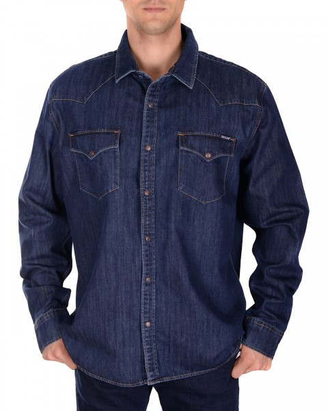 "Джинсовая рубашка ""Levi's"" (L / 48) - фото 1"