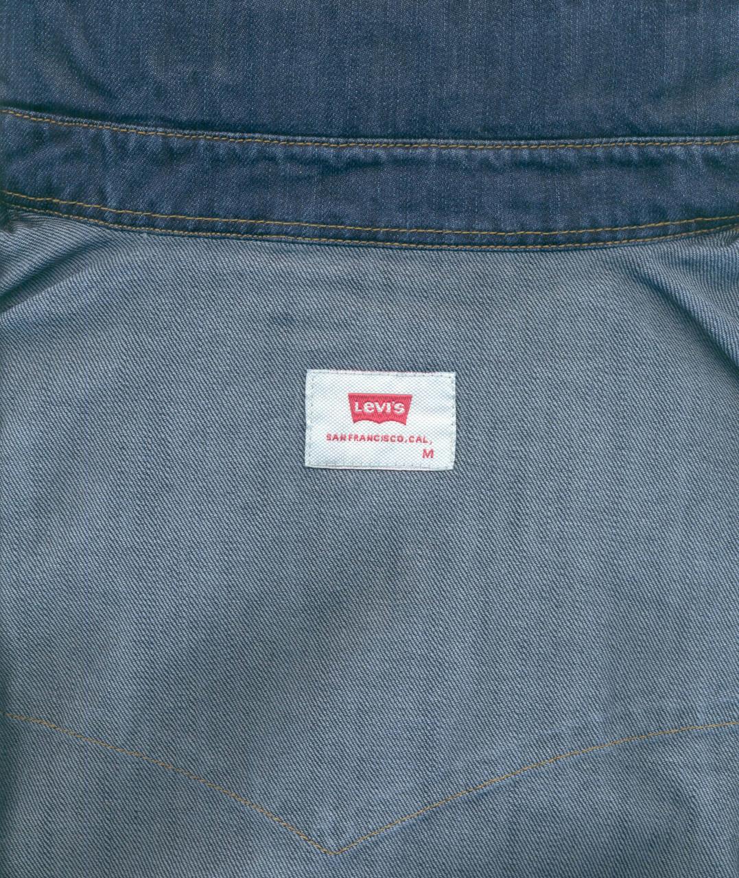 "Джинсовая рубашка ""Levi's"" (L / 48) - фото 2"