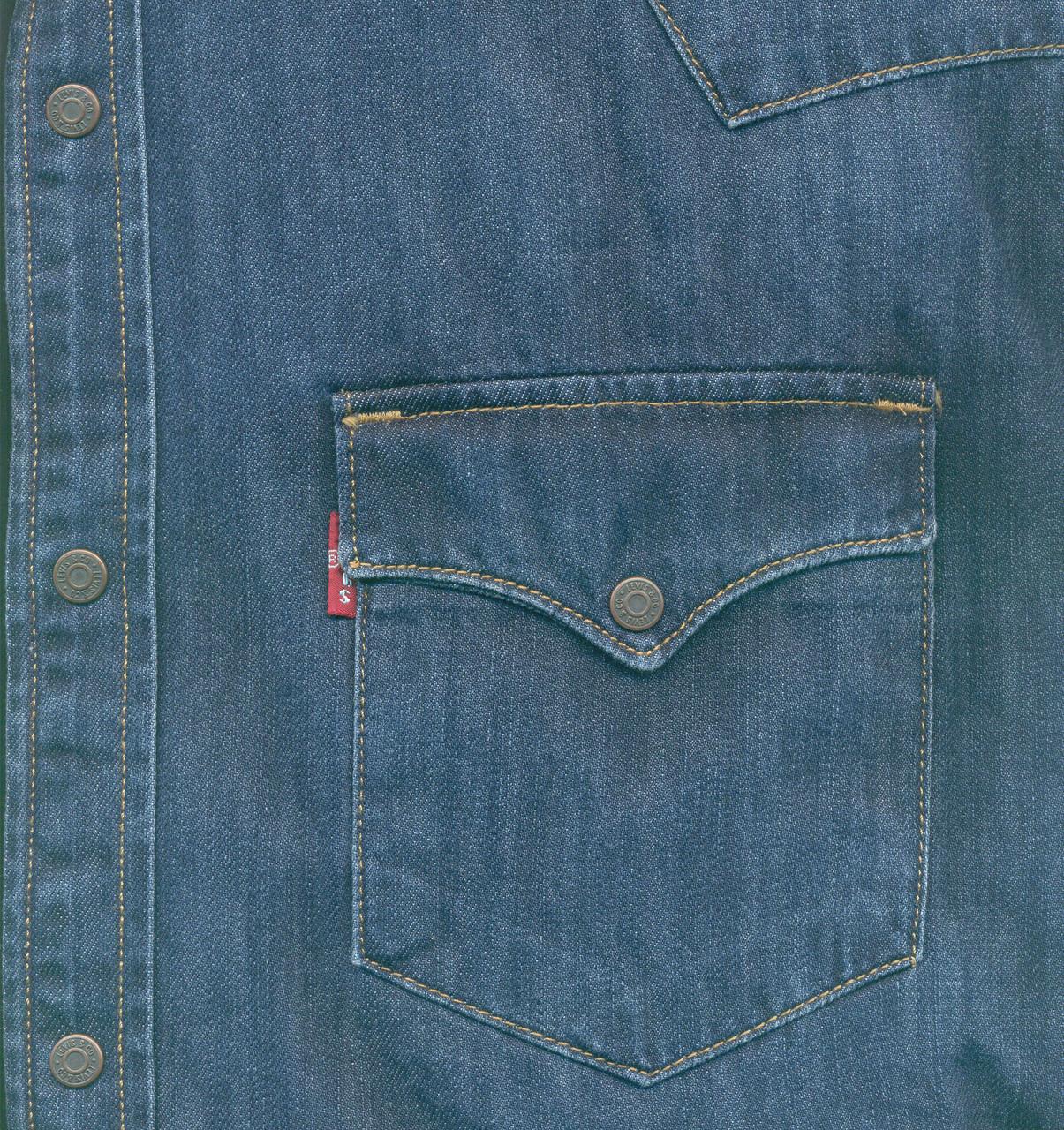 "Джинсовая рубашка ""Levi's"" (L / 48) - фото 5"