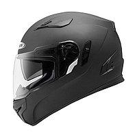 Шлем интеграл ZS-813A черный матовый, XS