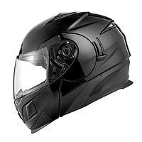 Шлем модуляр ZS-3020 черный глянец, S