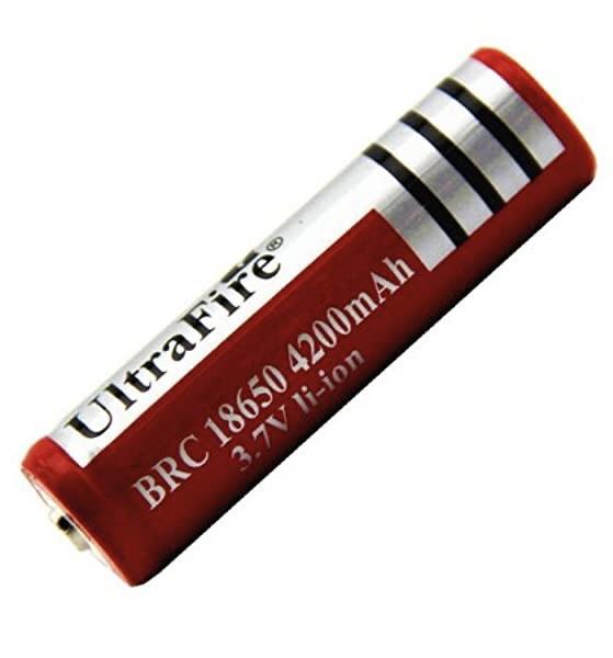 Аккумулятор Li-Ion 18650 3,7V 4200mAh - фото 1