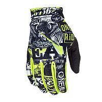 Перчатки детские MATRIX ATTACK, чёрный/жёлтый, XS
