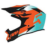 Шлем 509 Altitude Fidlock® (ECE), размер S, зелёный, оранжевый, чёрный