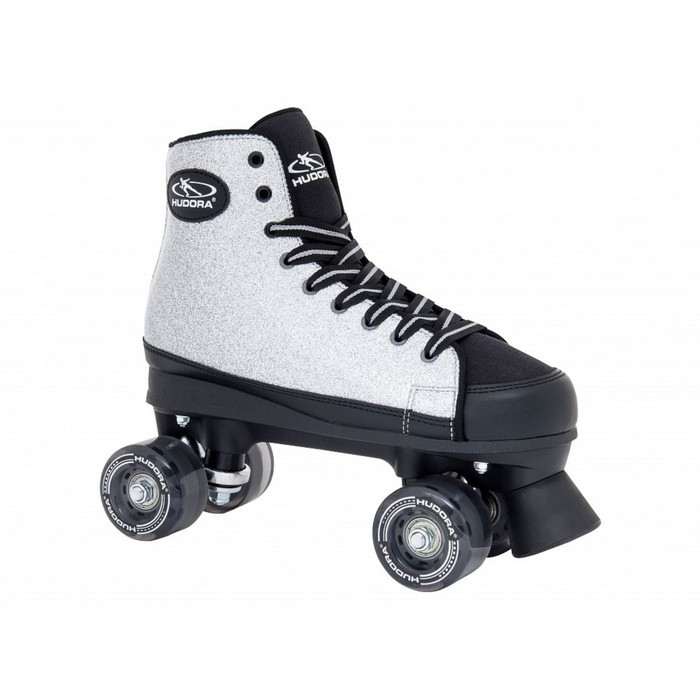 Ролики-квады Roller Skates Silver Glamour, цвет серебристый, размер 37