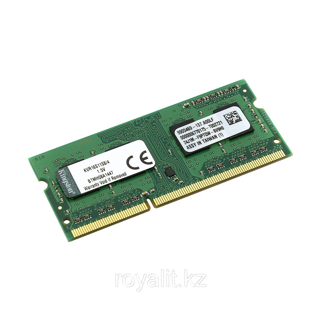 Модуль памяти Kingston DDR3 SODIMM 4Gb