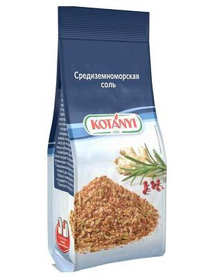 Приправа Средиземноморская соль KOTANYI, ал. пакет 135г